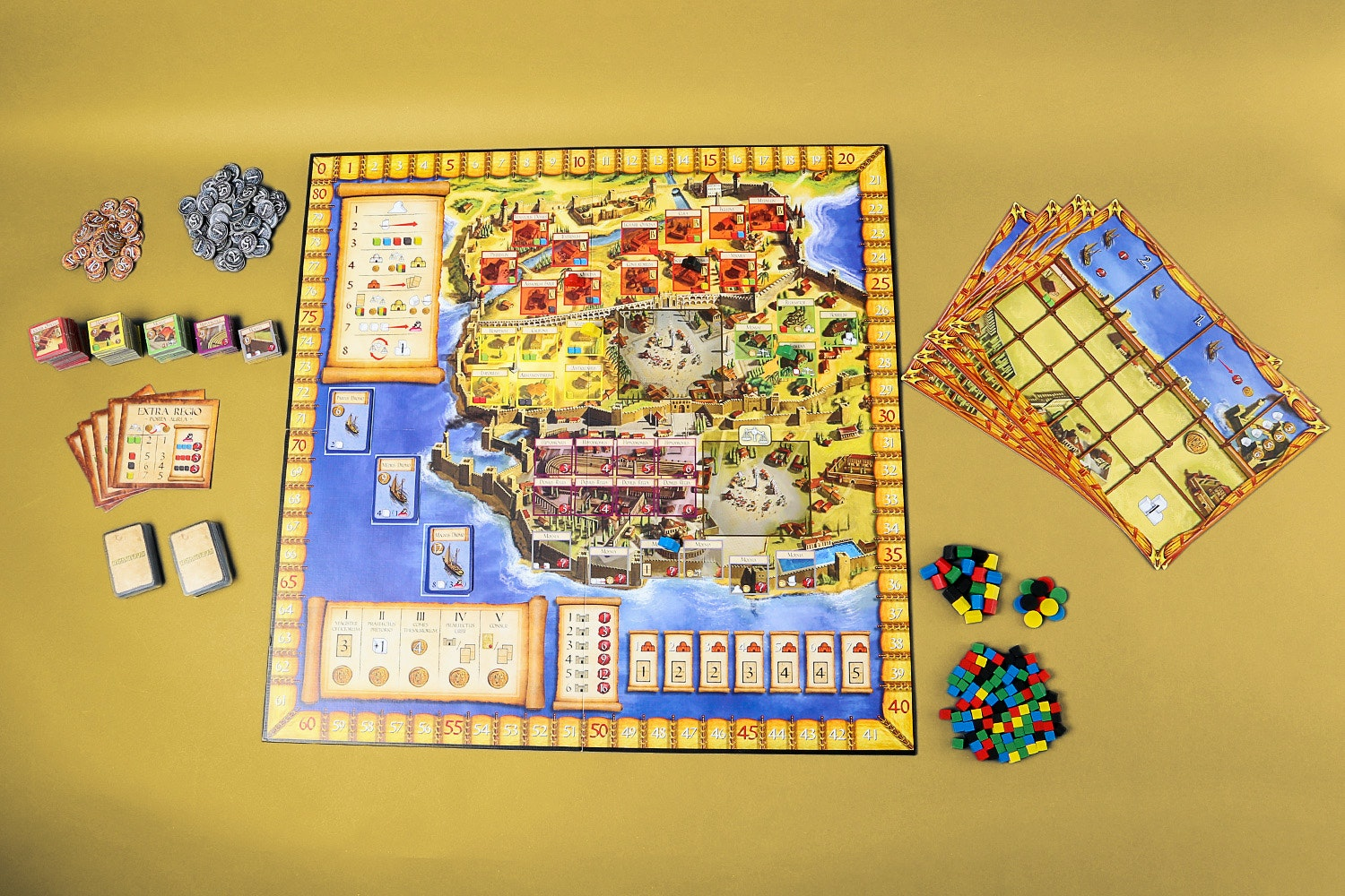 Constantinopolis Board Game