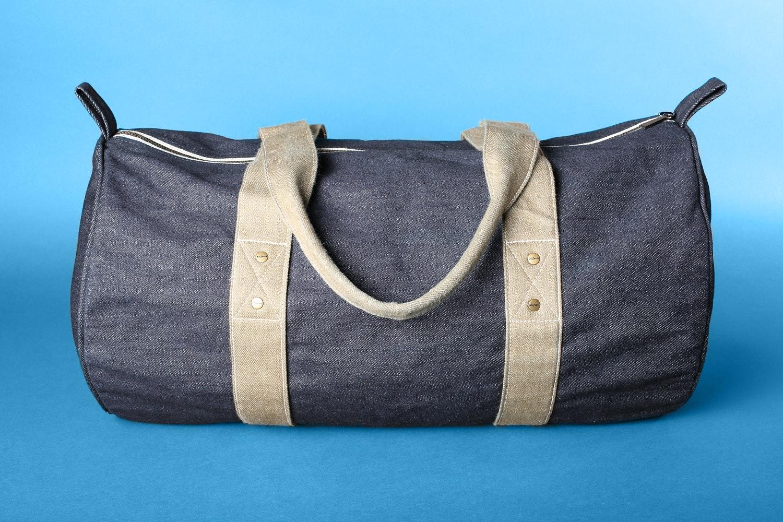 OriJeans Selvage Denim Duffel Bag