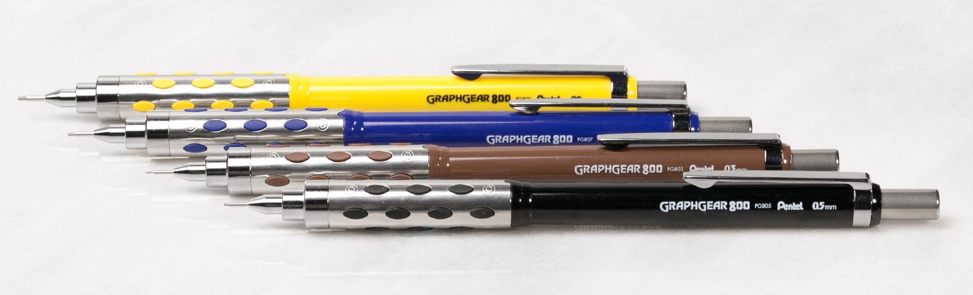 Pentel GraphGear 800 Drafting Pencil (4-Pack)