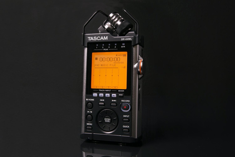 TASCAM DR-44WL Handheld 4-Track Recorder