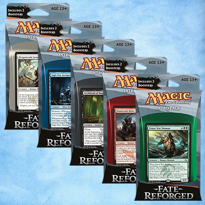 Fate Reforged Intro Pack Set of 5 Presale