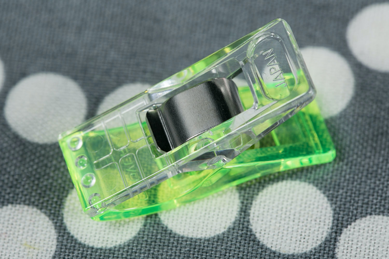 Neon Green Wonder Clips (50-Pack)
