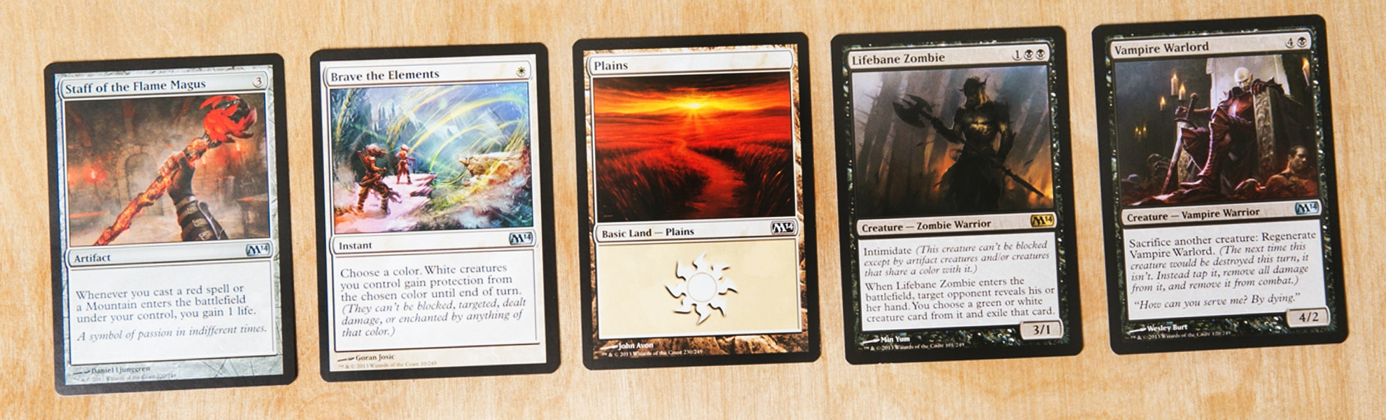 Magic 2014 Booster Battle Pack Display