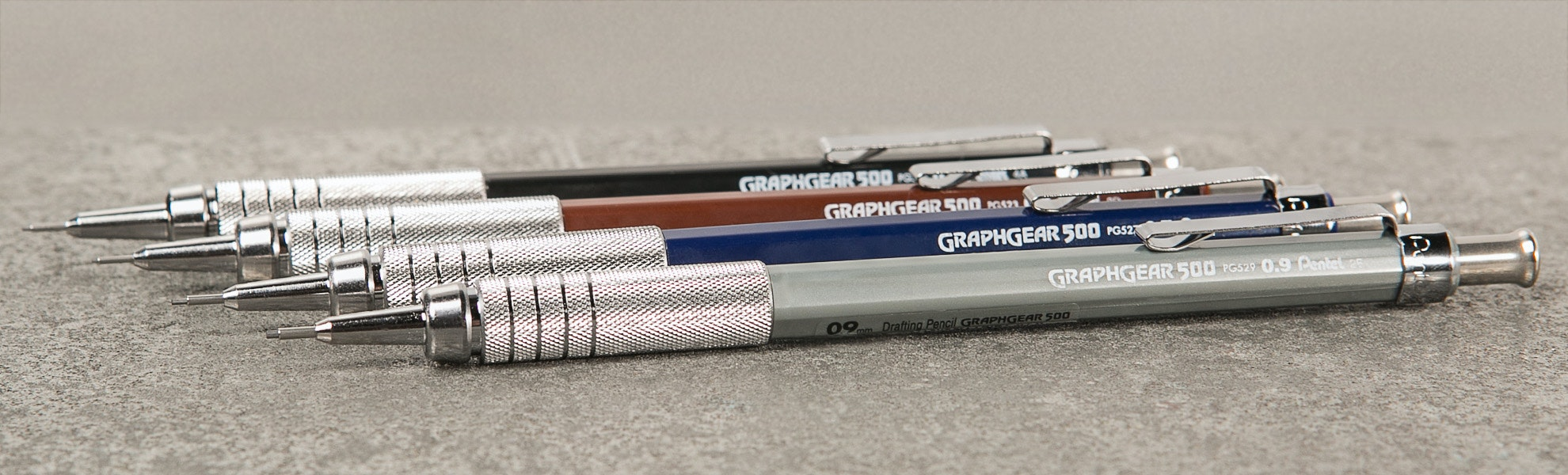 Pentel GraphGear 500 Drafting Pencil (4-Pack)