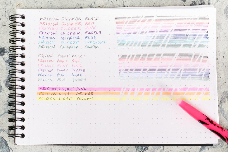 Pilot FriXion Color Bundle