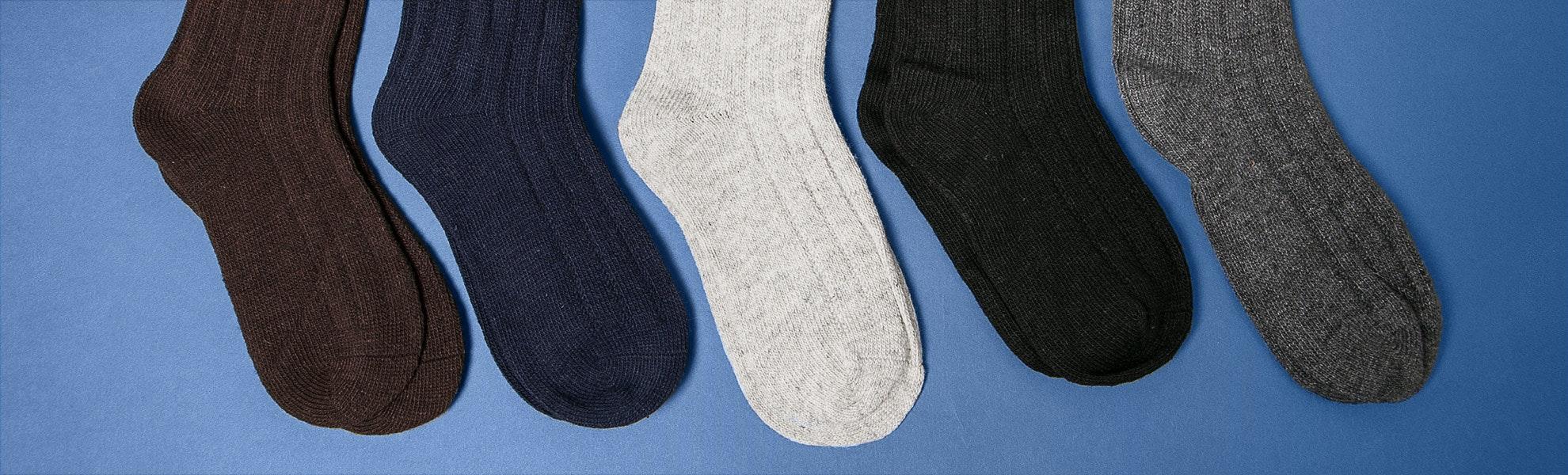 Socksquare Wool Socks (5-Pack)