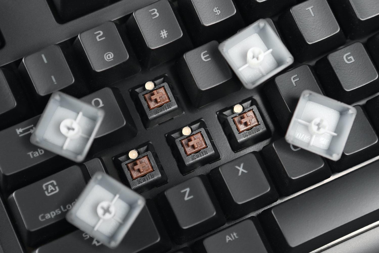 Thermaltake Poseidon ZX Backlit Mechanical Keyboard