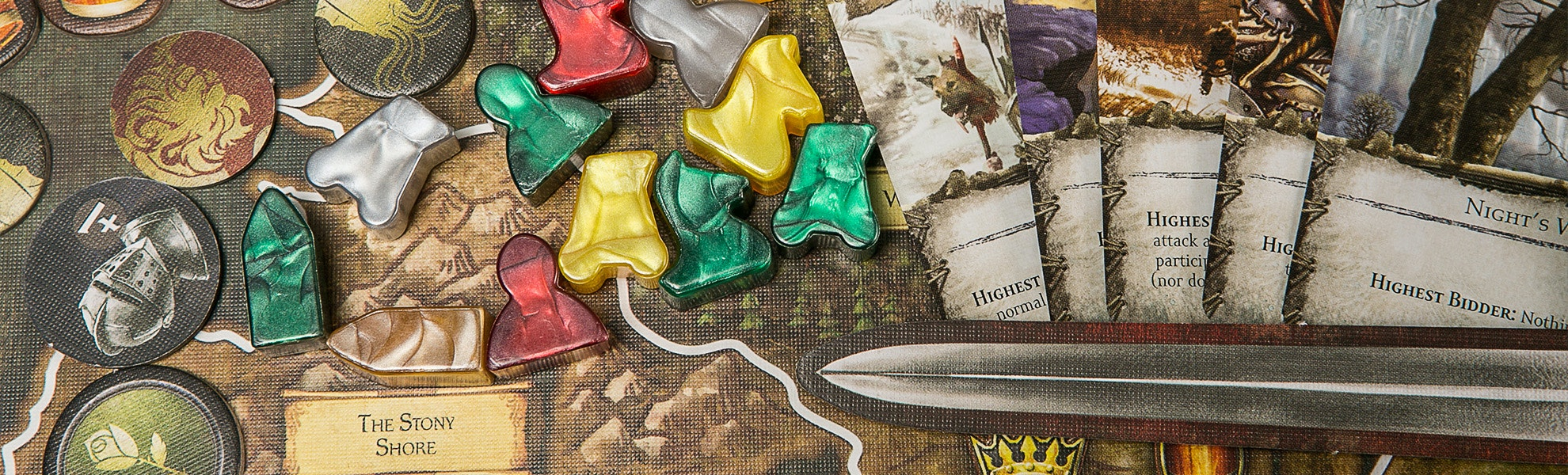 Game of Thrones the Board Game 2nd Edition