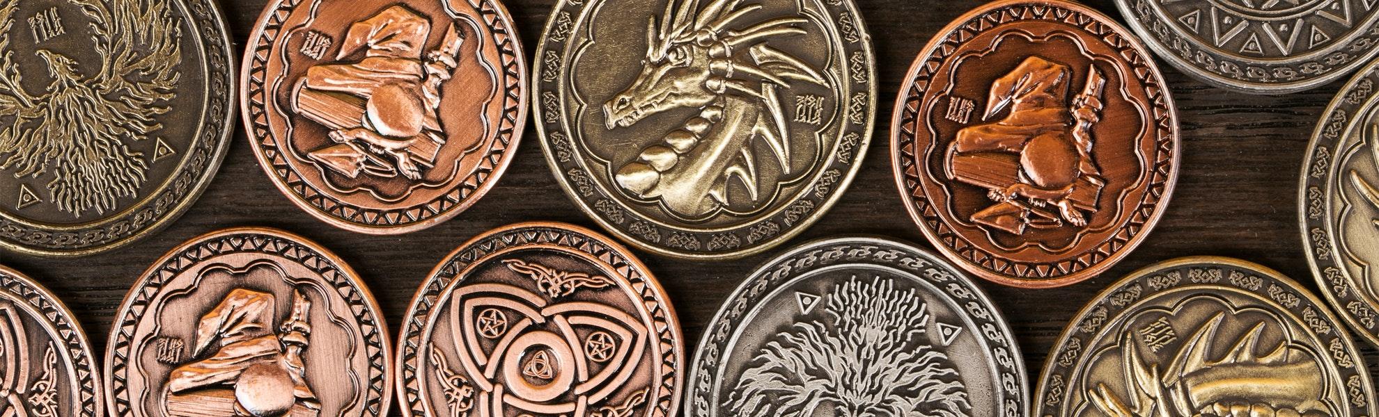 Fantasy Coin Magic Mixed Set