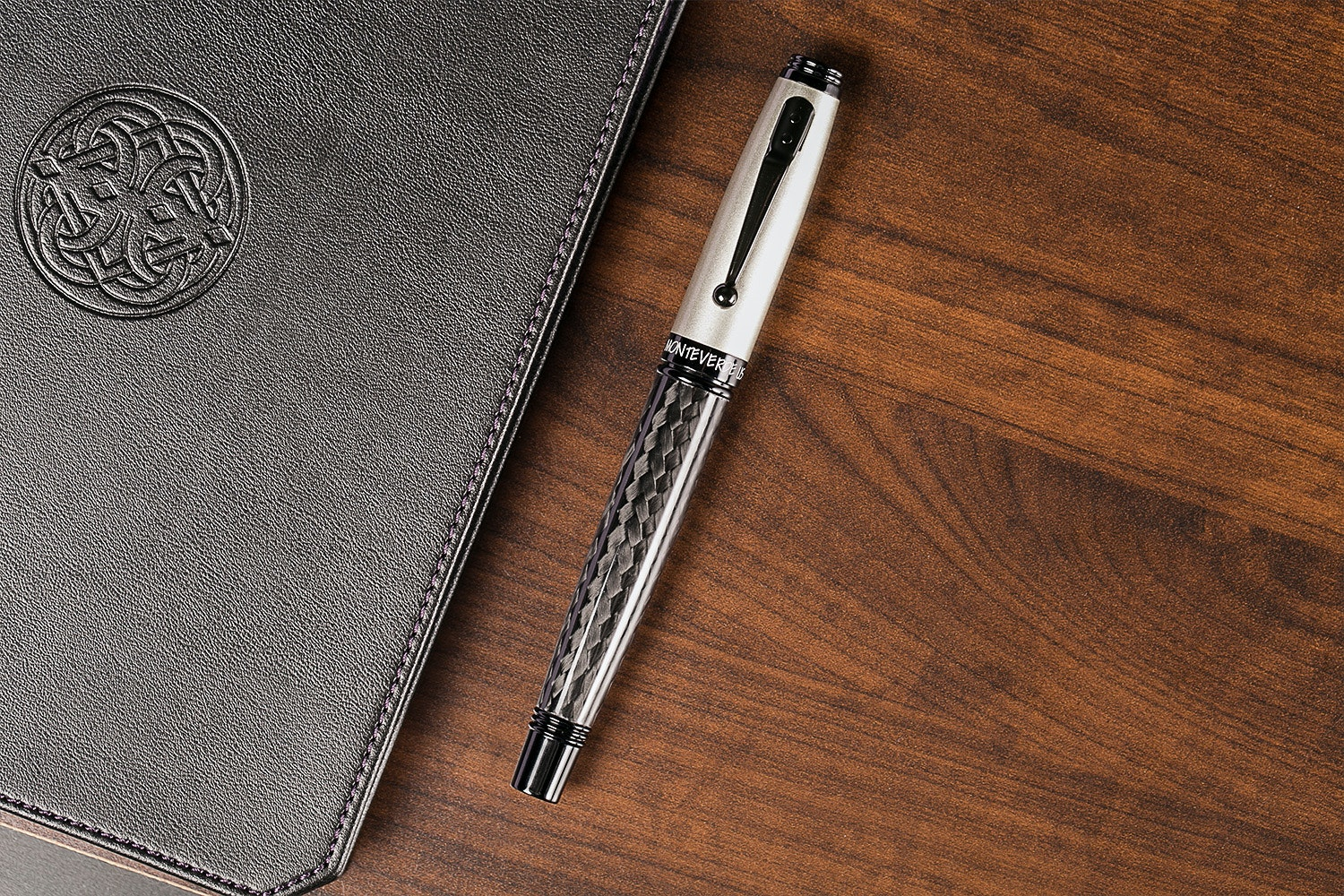 Monteverde Invincia Titanium Fountain Pen
