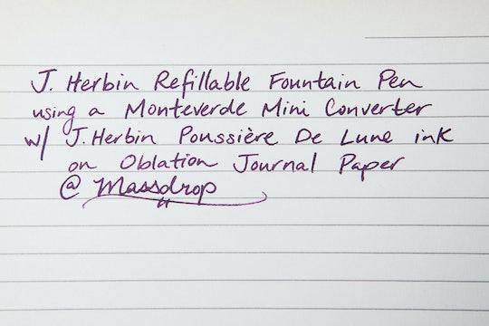 J. Herbin Refillable Fountain Pen (3-Pack)
