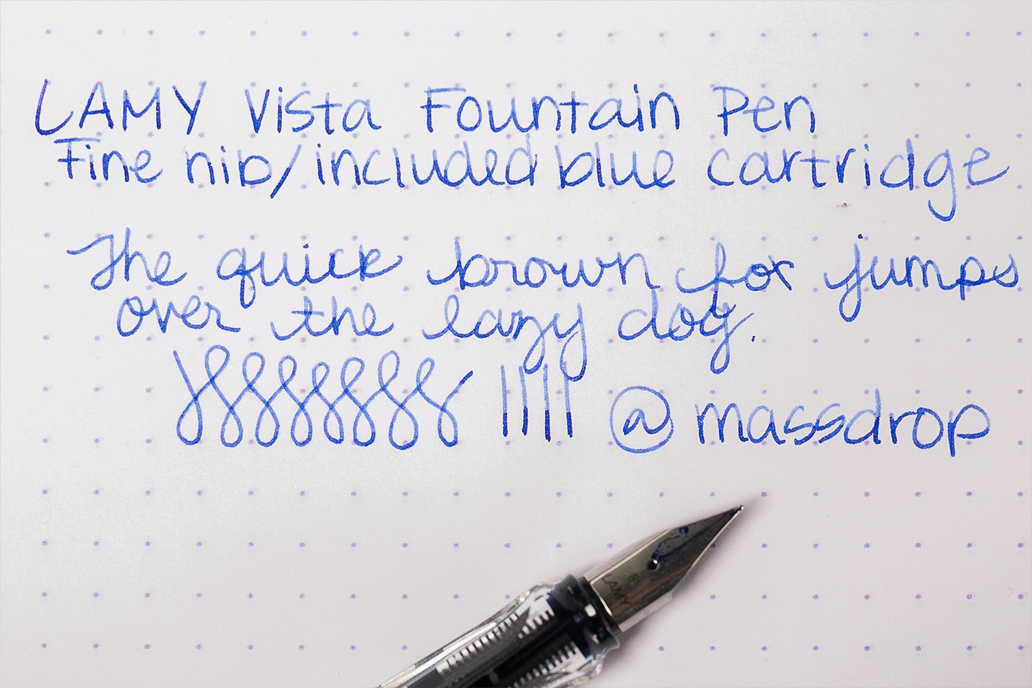 LAMY Vista Fountain Pen (2-Pack)