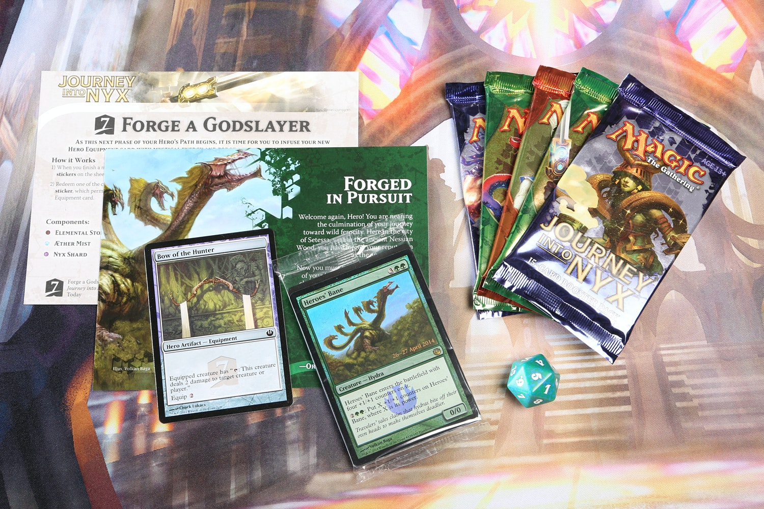 Journey Into Nyx Prerelease Kit 5-Pack
