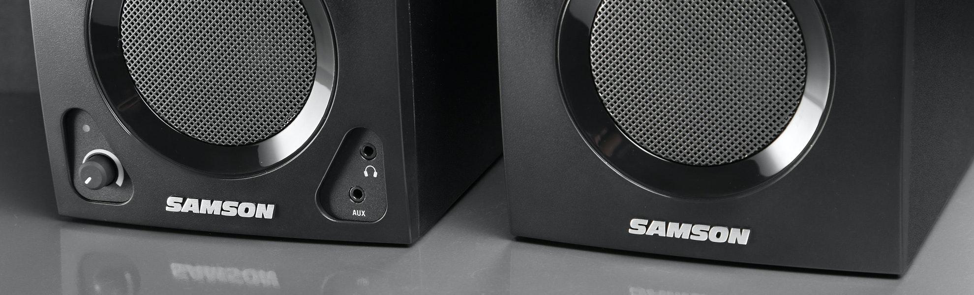 Samson MediaOne BT3 Active Studio Monitors