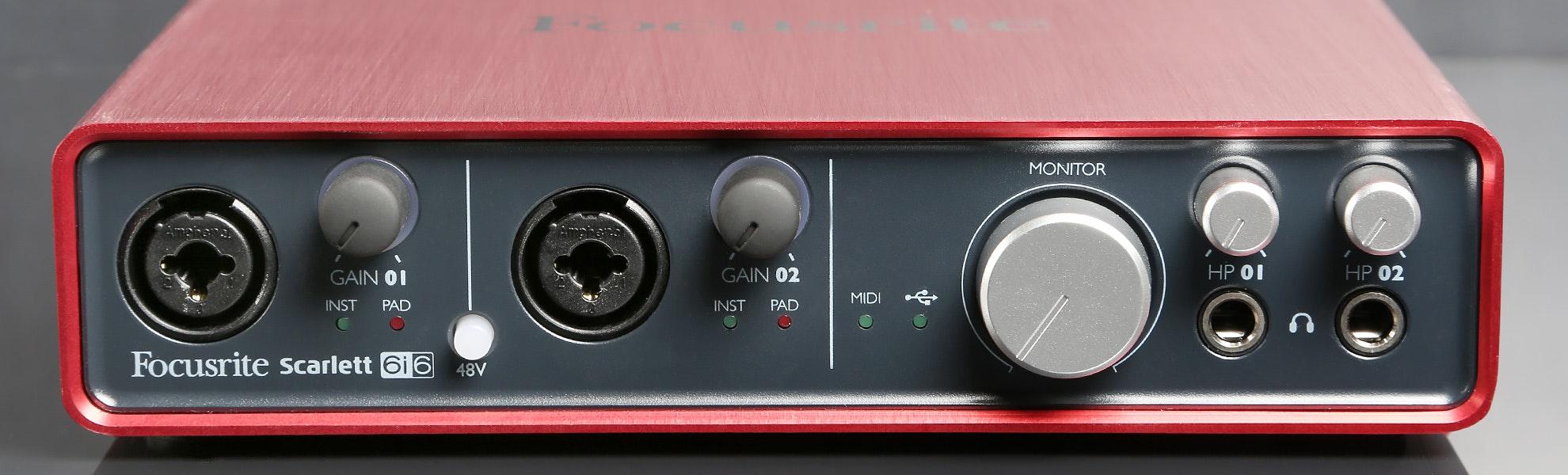 Focusrite 6i6 USB Audio Interface