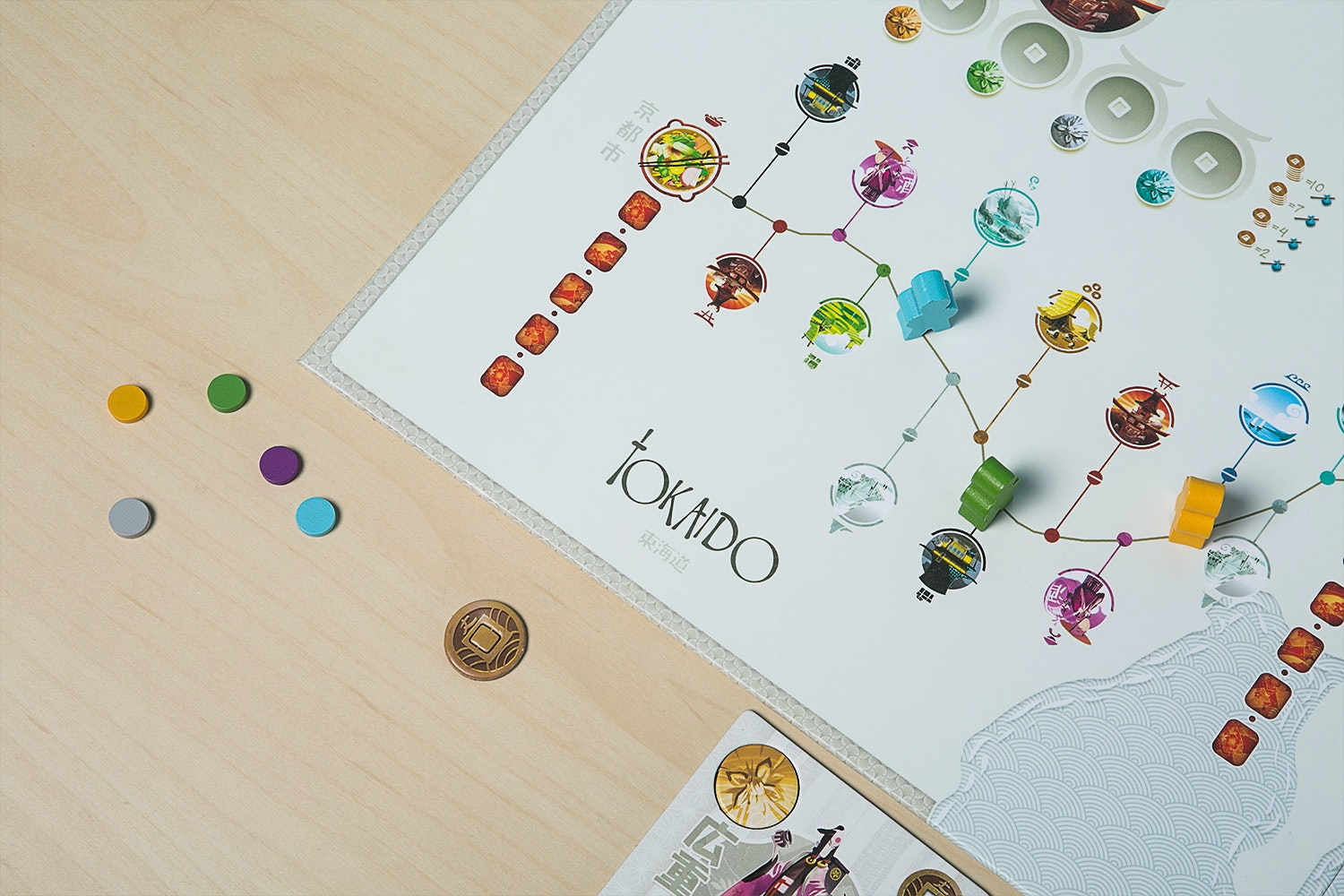Tokaido Board Game Bundle