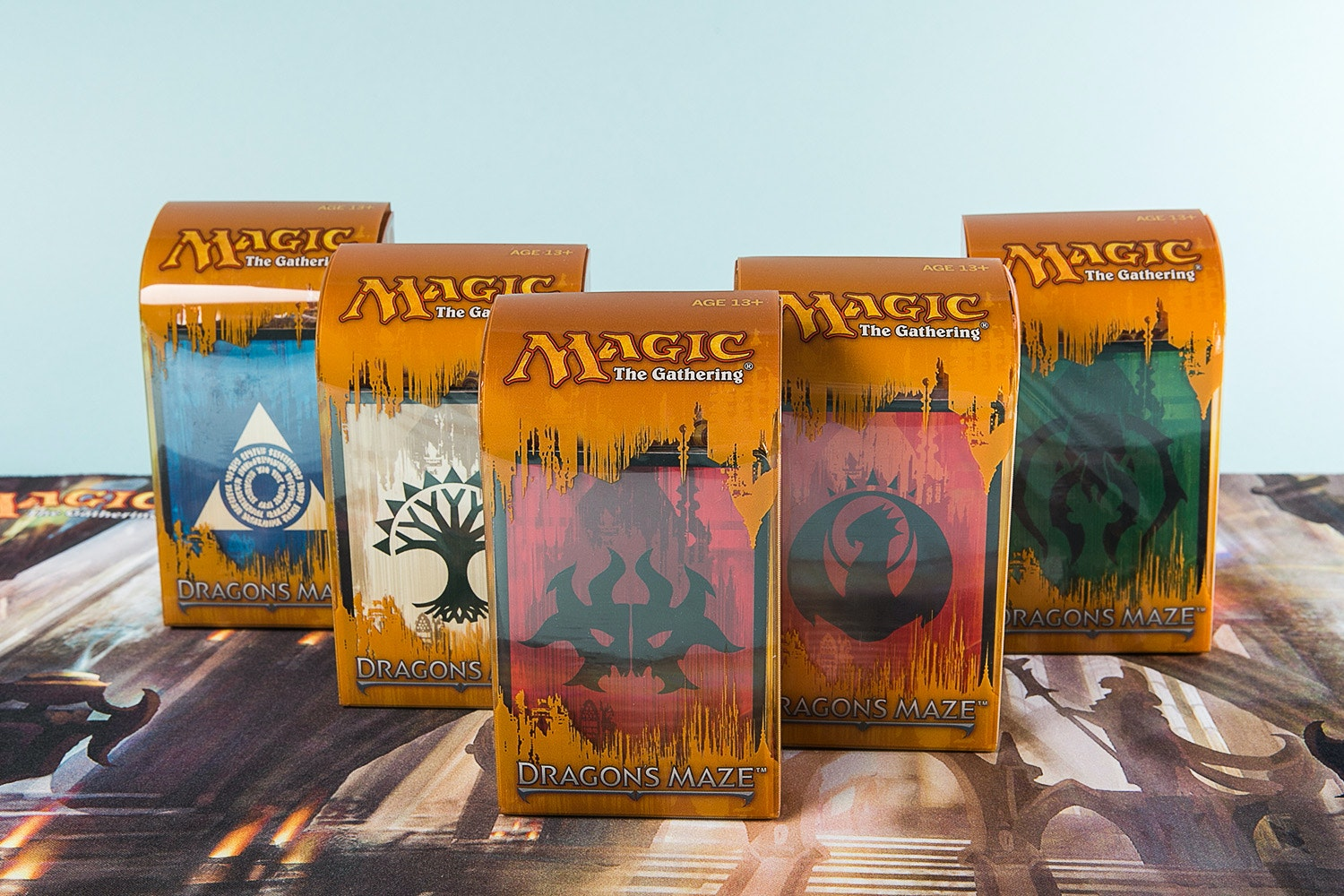 Dragon's Maze Prerelease Kit (5-Pack)