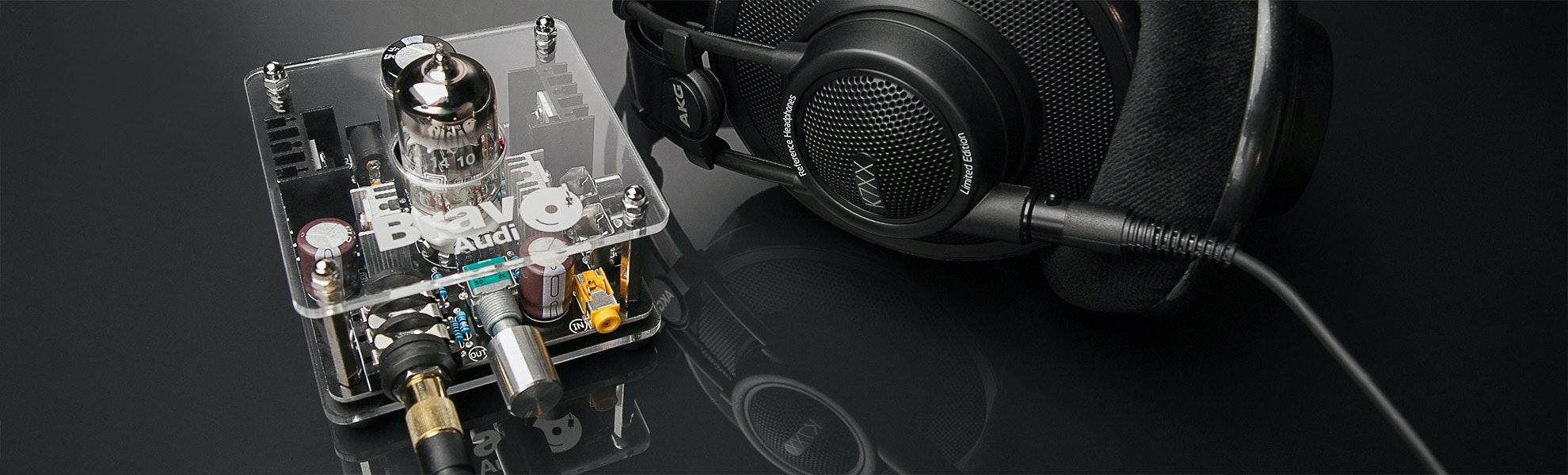 Bravo V2 Headphone Amplifier