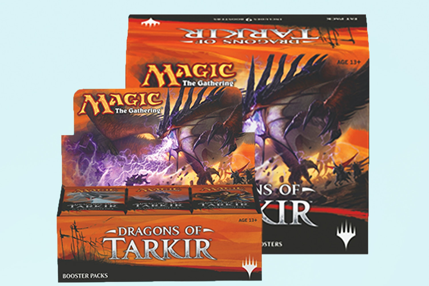 Dragons of Tarkir Booster Box + Fat Pack