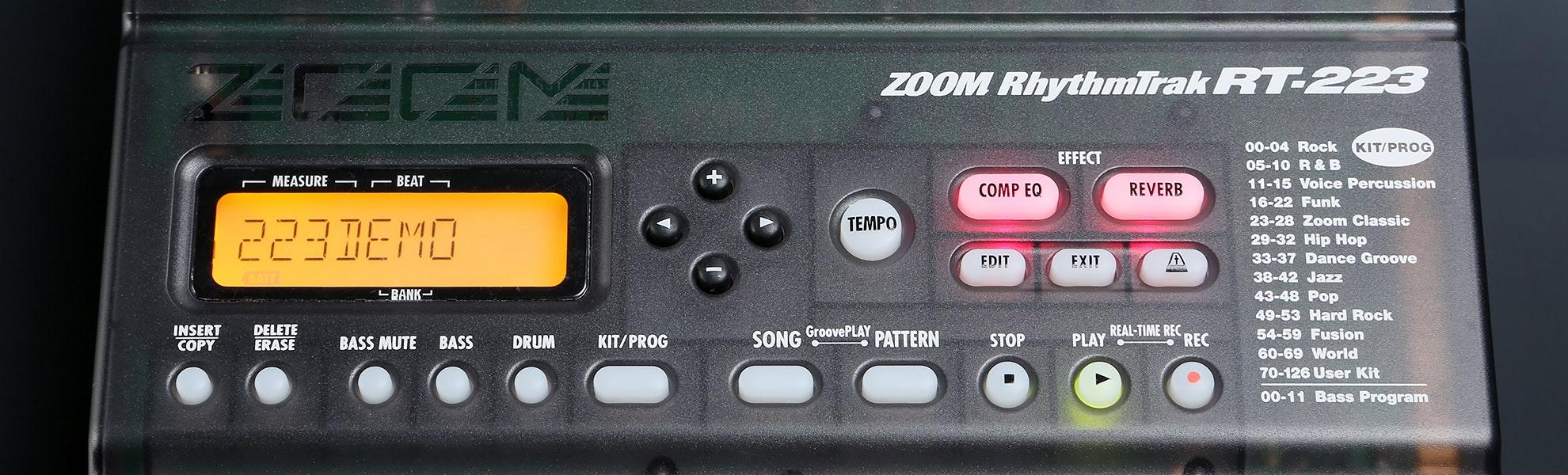 Zoom RT223 Rhythm Trak Drum Machine