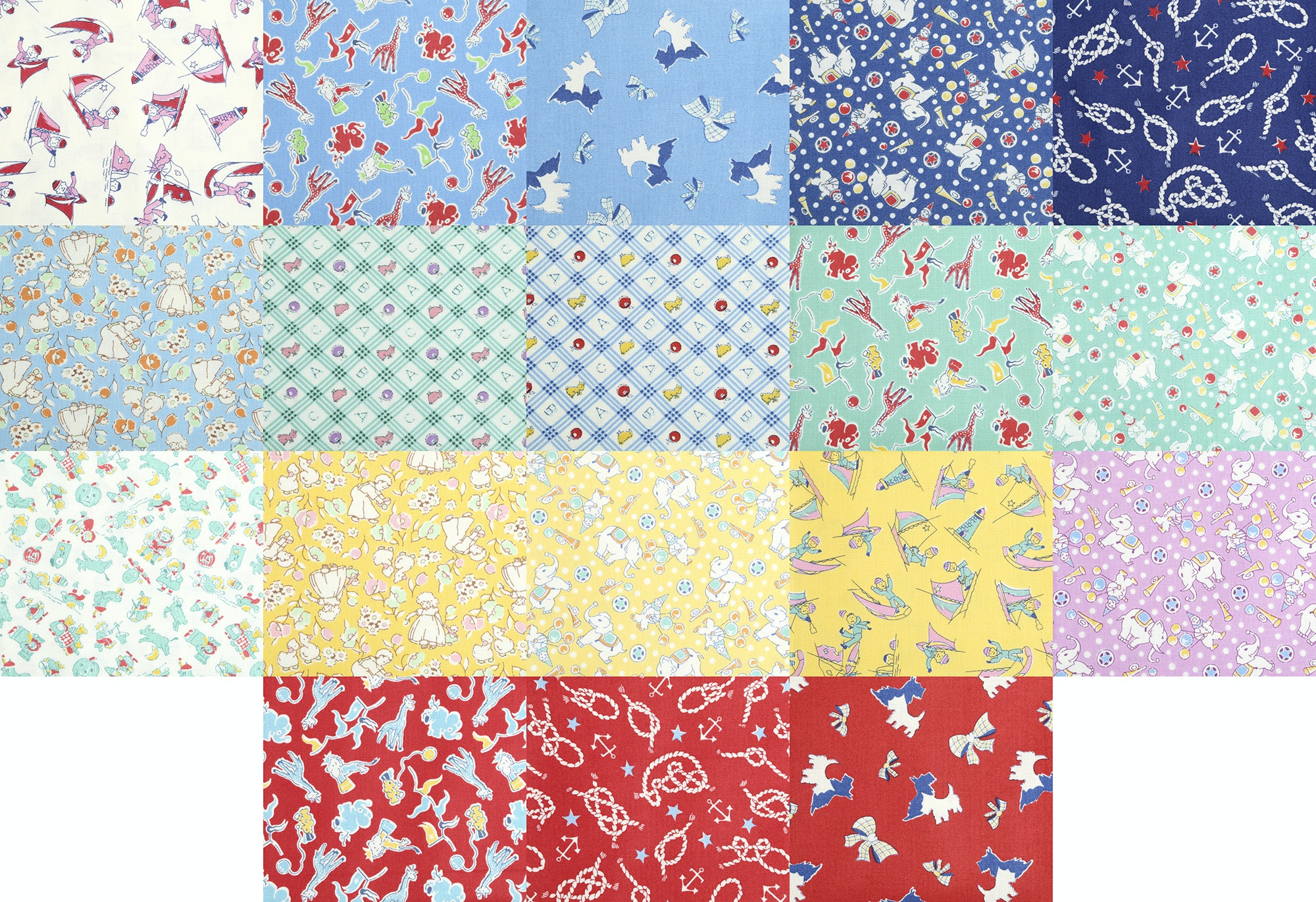Toy Chest Conversational Fat Quarter Bundle