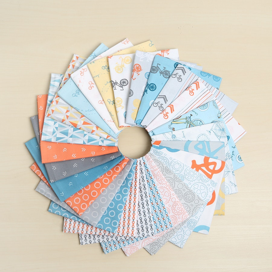 Cycles of Life by Kristen Berger Fat Quarter Bundle