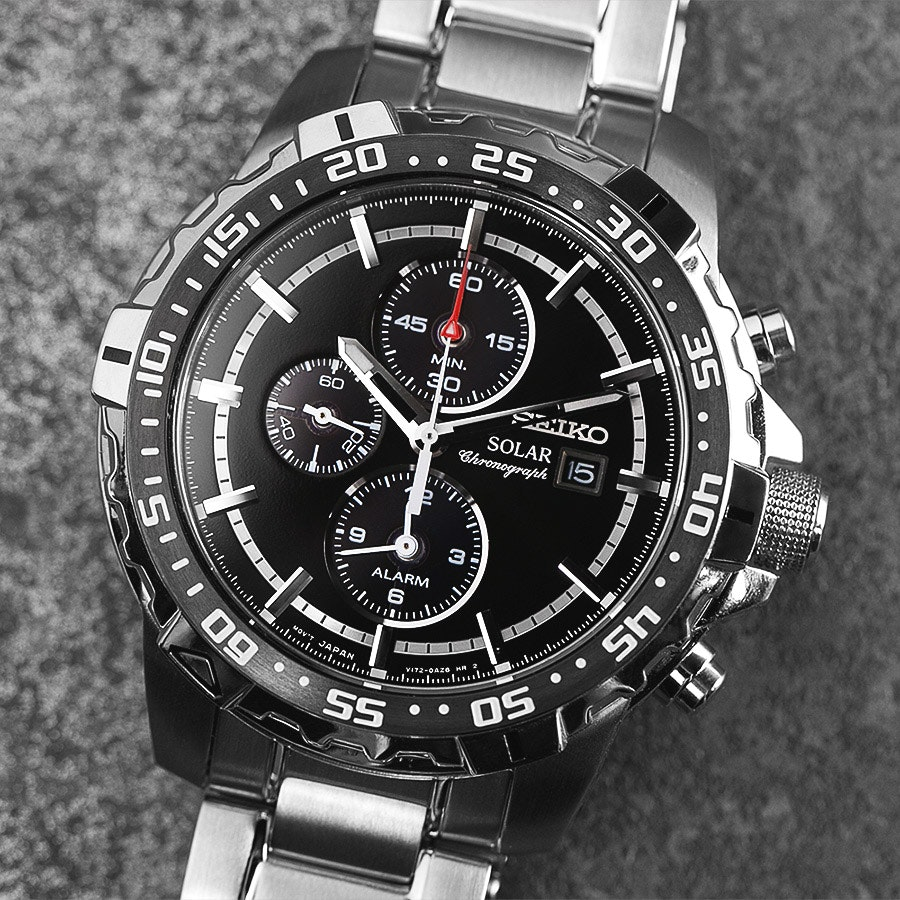 Seiko Solar Chronograph SSC299P1 Watch