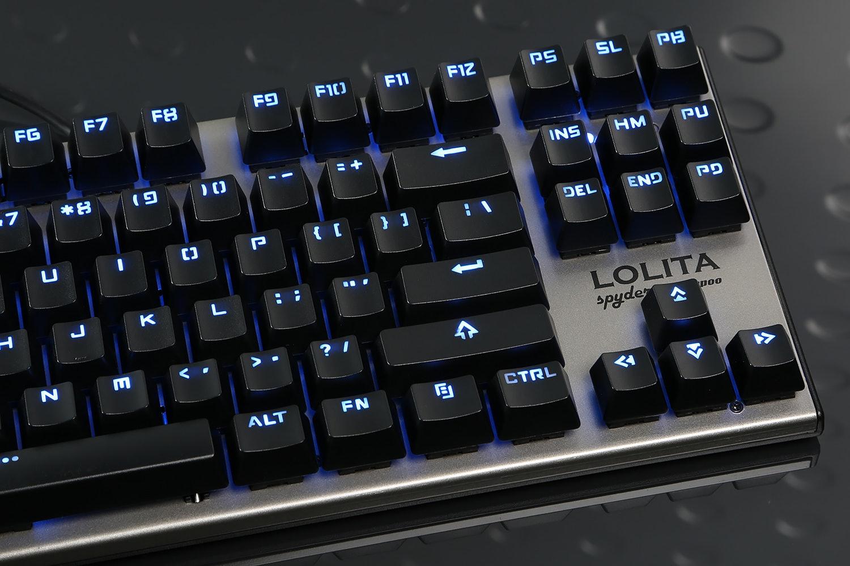 Noppoo Lolita Spyder 87 Blue LEDs