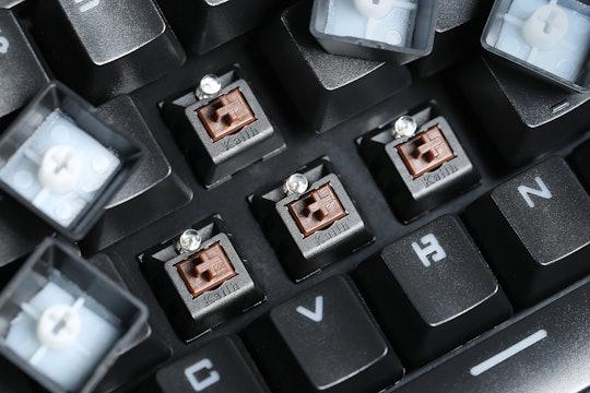 Keycool 87 Backlit Mechanical Keyboard