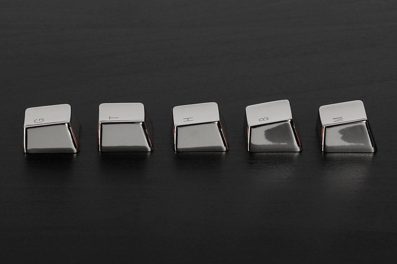 Zinc Silver Tone 37 Keyset