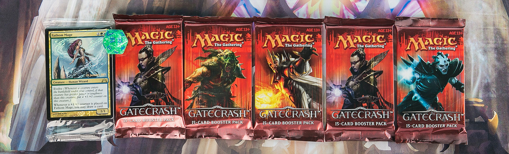 MTG Gatecrash Kit 5-Pack