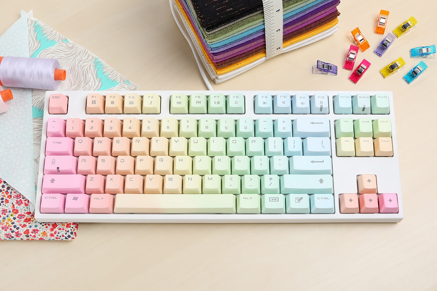 Keycool Rainbow Keyboard