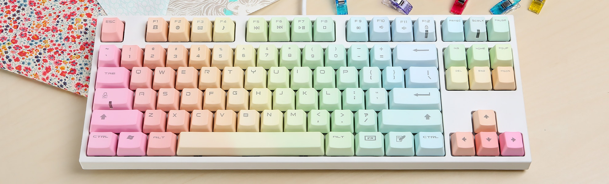 Keycool Rainbow Keyboard