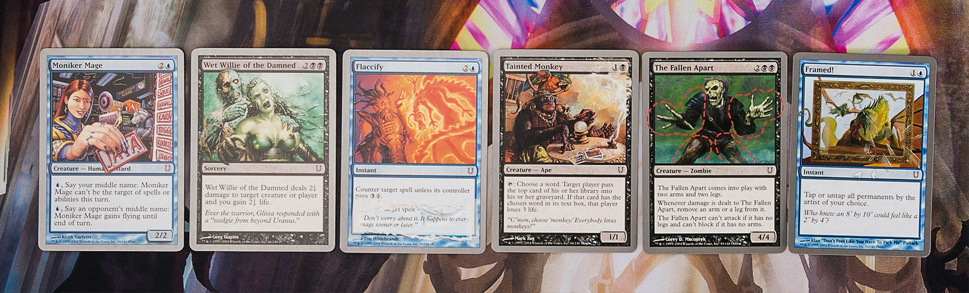 Unhinged Full Set of Commons