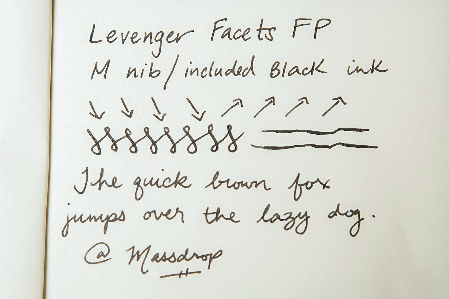 Levenger Facets Fountain Pen