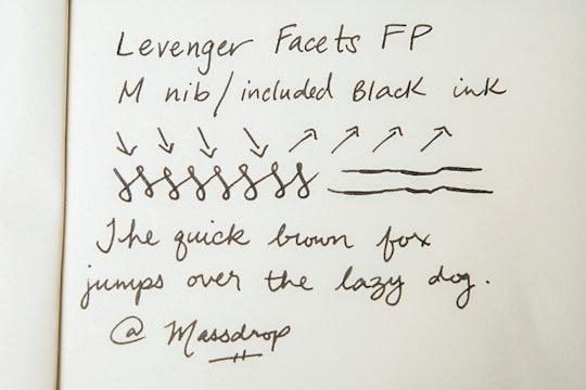 Levenger Facets Fountain Pen