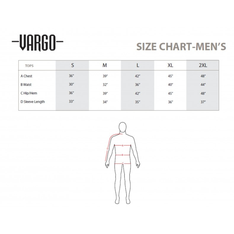 Vargo Men's Slag Short Sleeve Shirt
