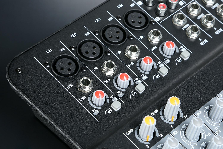 Samson MXP124FX 4-Channel Stereo Mixer