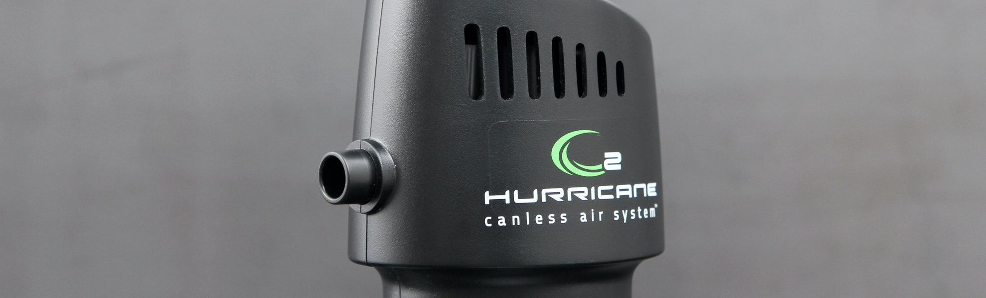 O2 Hurricane Industrial Canless Air