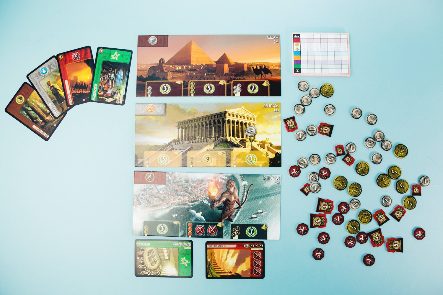 7 Wonders Board Game Bundle