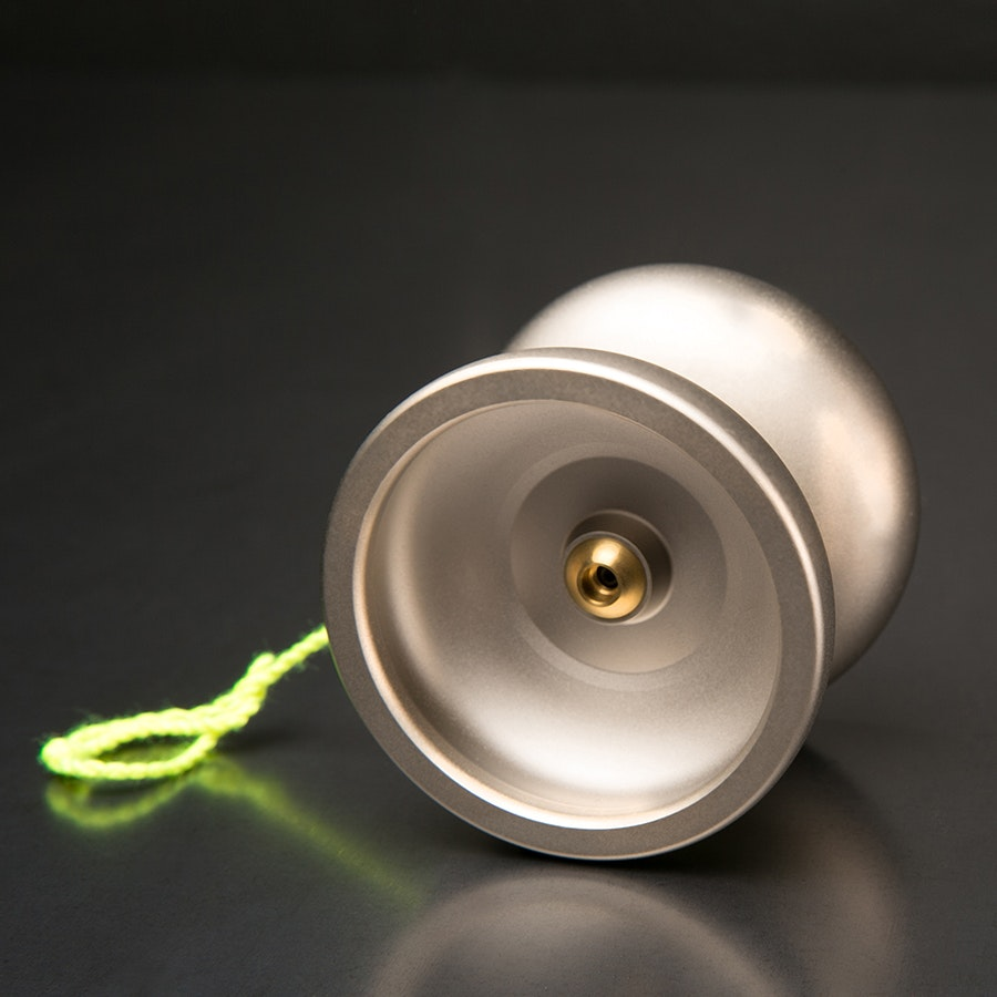 One Drop Nickel-Plated Markmont Yo-Yo