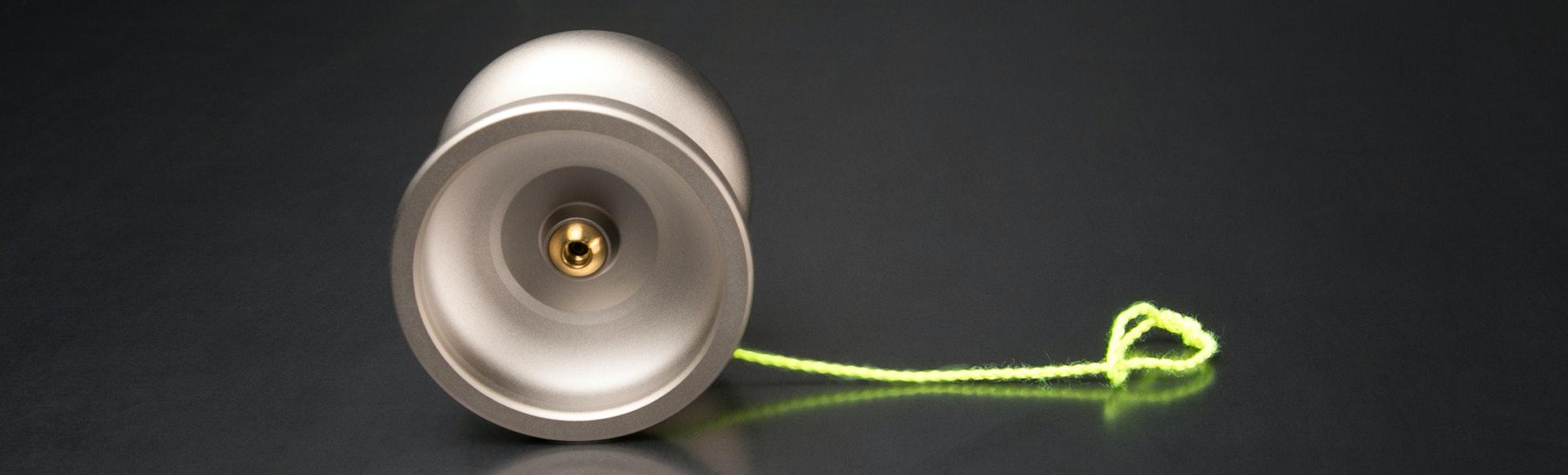 One Drop Nickel-Plated Markmont Yo-Yo