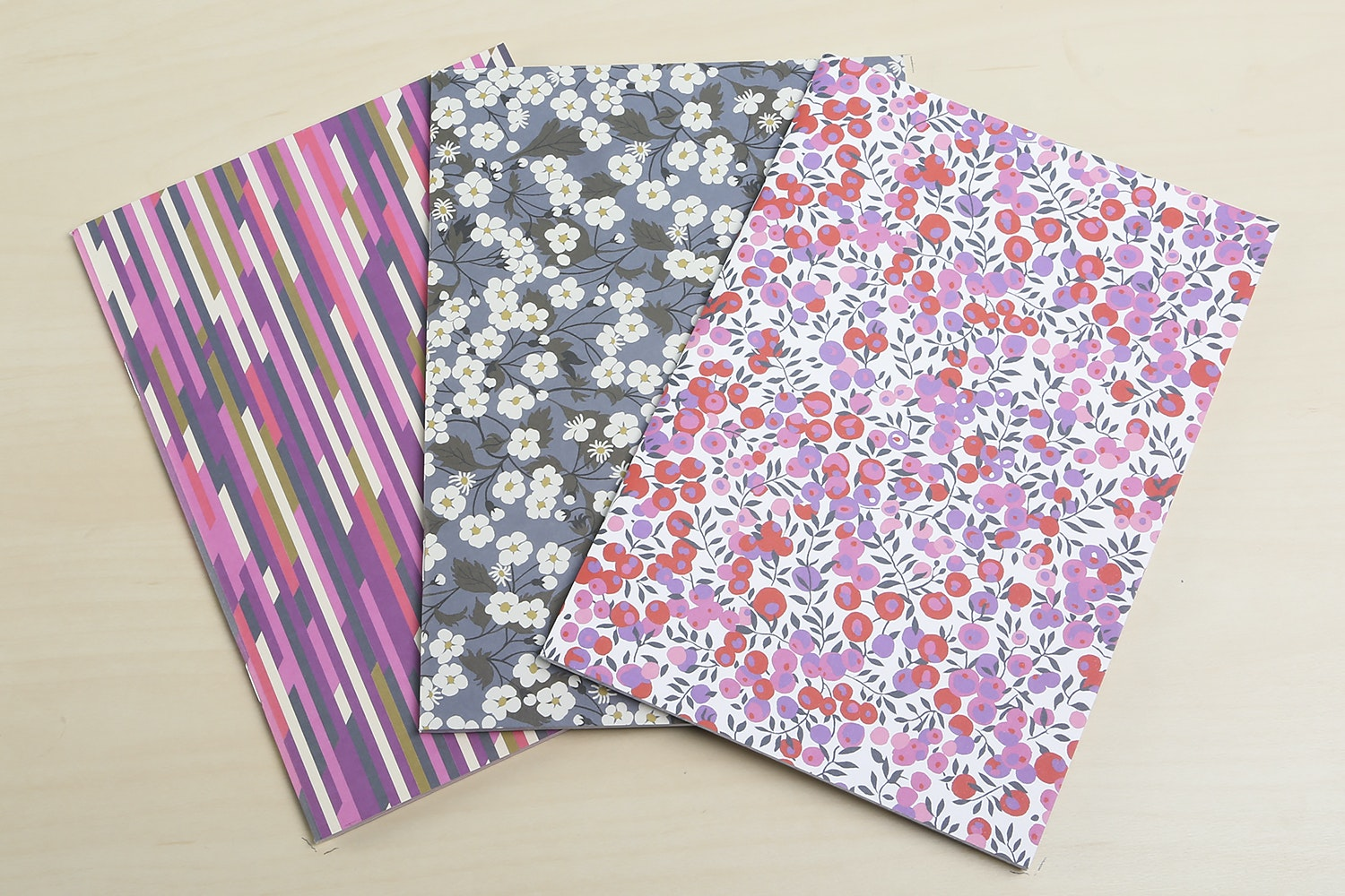 Liberty Floral Notebooks