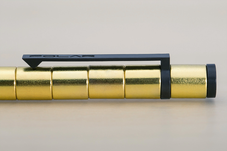 Nano Magnetics Polar Pen w/Stylus - Gold Edition