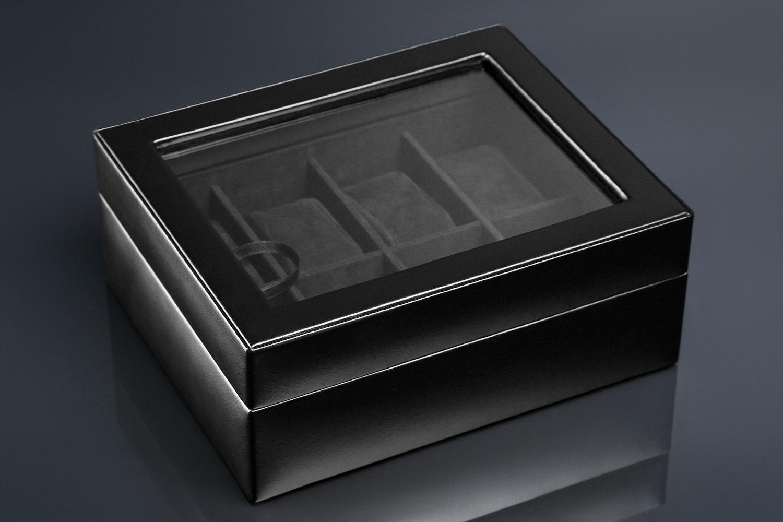 WOLF 8-Piece Watch Box