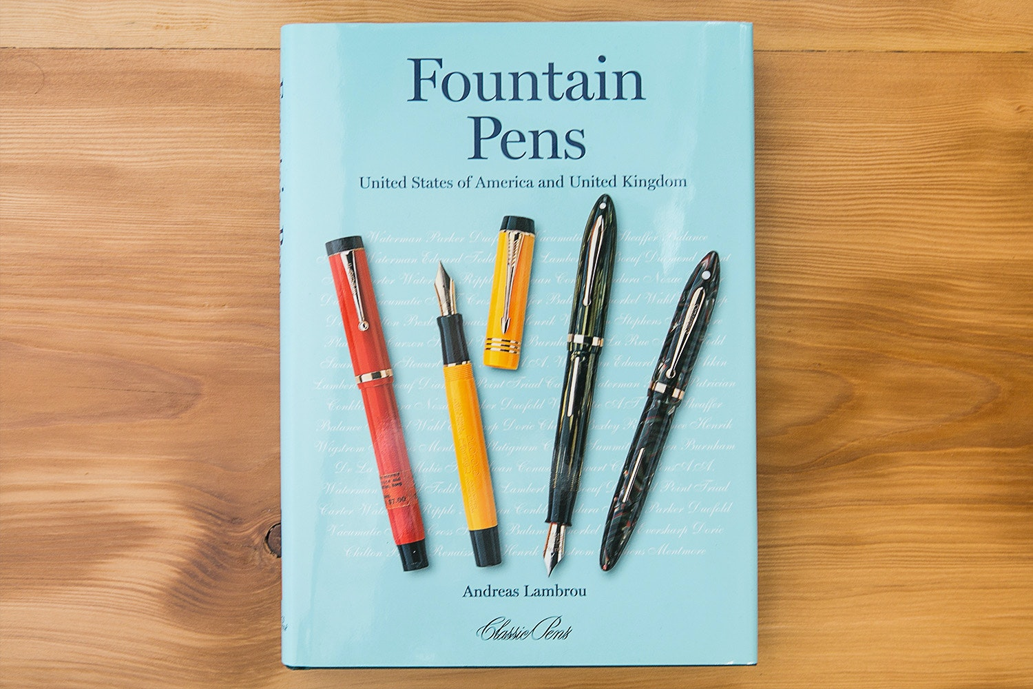 Fountain Pen Books by Andreas Lambrou