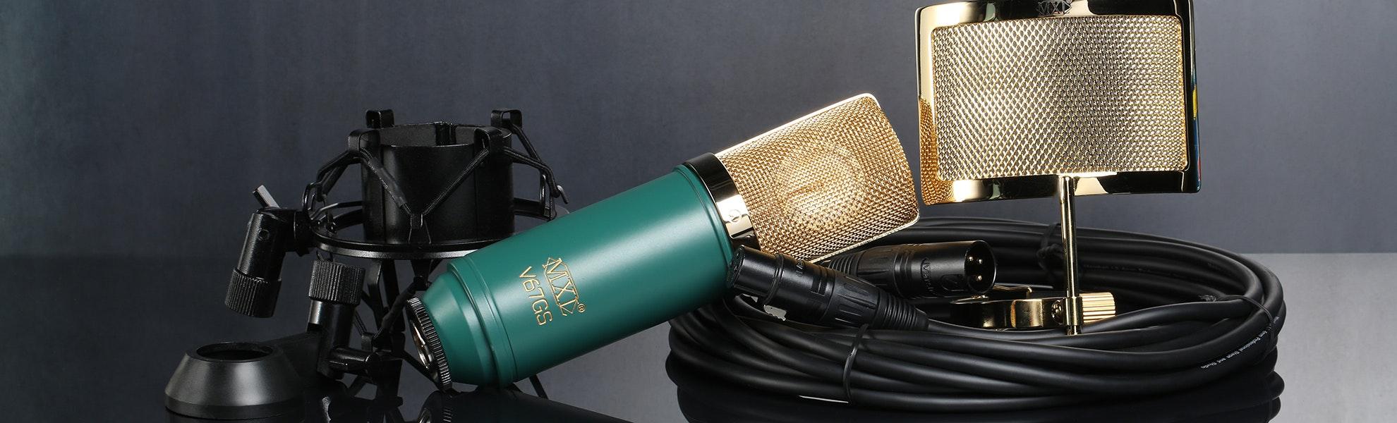 MXL V67-MD1 Microphone Bundle