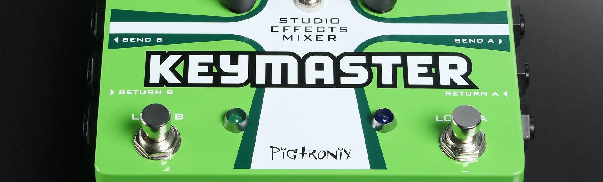 Pigtronix REM Keymaster Pedal