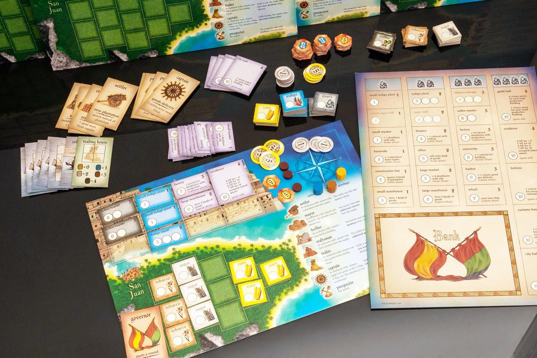 Puerto Rico Board Game