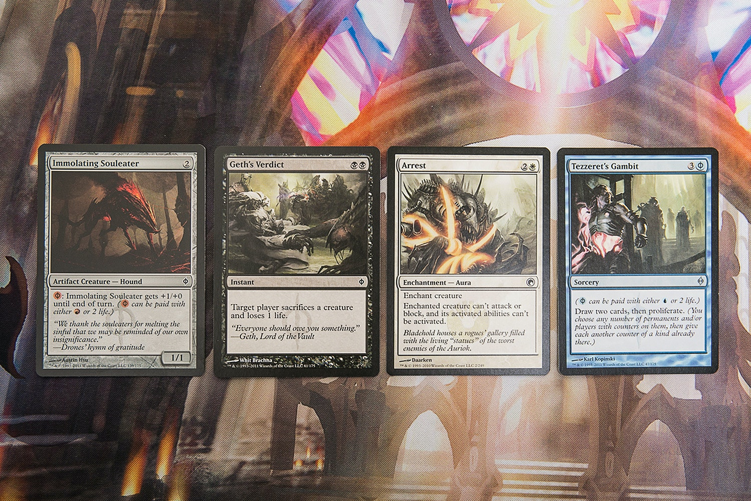 Scars of Mirrodin Block Booster Bundle